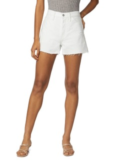 Hudson Jeans Hudson Lori Cutoff Denim Shorts in Dest White