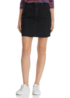 Hudson Jeans Hudson Lulu Denim Mini Skirt in Black
