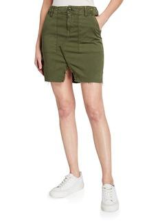 Hudson Jeans Hudson Lulu Military-Style Cargo Skirt