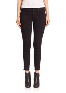Hudson Luna Star Studded Ankle Skinny Jeans