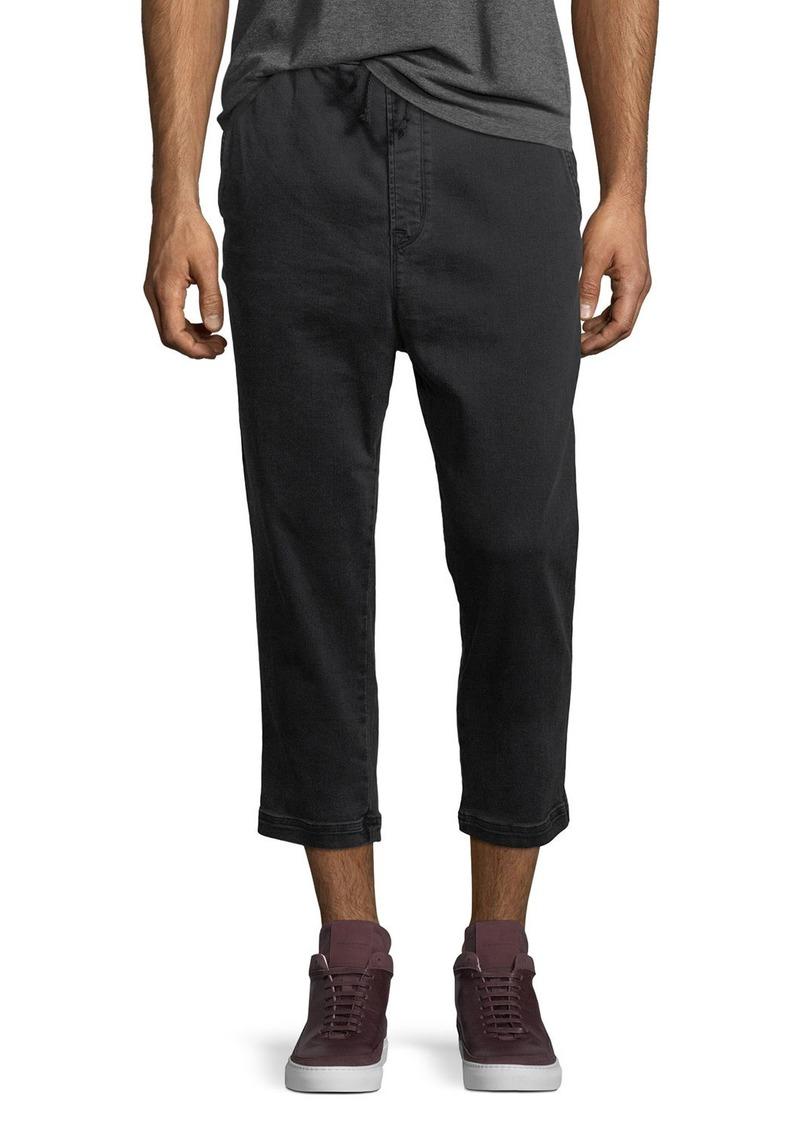 Hudson Jeans Hudson Men's Leo Drop-Crotch Drawstring Pants