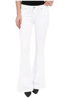 Hudson Jeans Hudson Mia Barefoot Length Flare in White 2