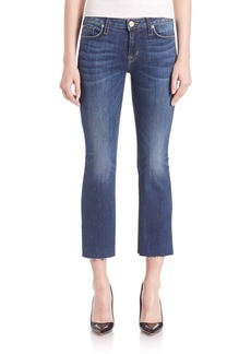 Hudson Mia Cropped Flare Jeans