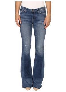 Hudson Jeans Hudson Mia Five-Pocket Mid-Rise Flare in Fierce