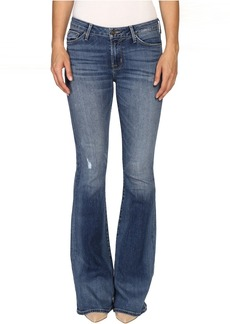 Hudson Jeans Hudson Mia Five-Pocket Mid-Rise Flare in Fierce