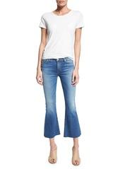 Hudson Jeans Hudson Mia Flare-Leg Cropped Jeans