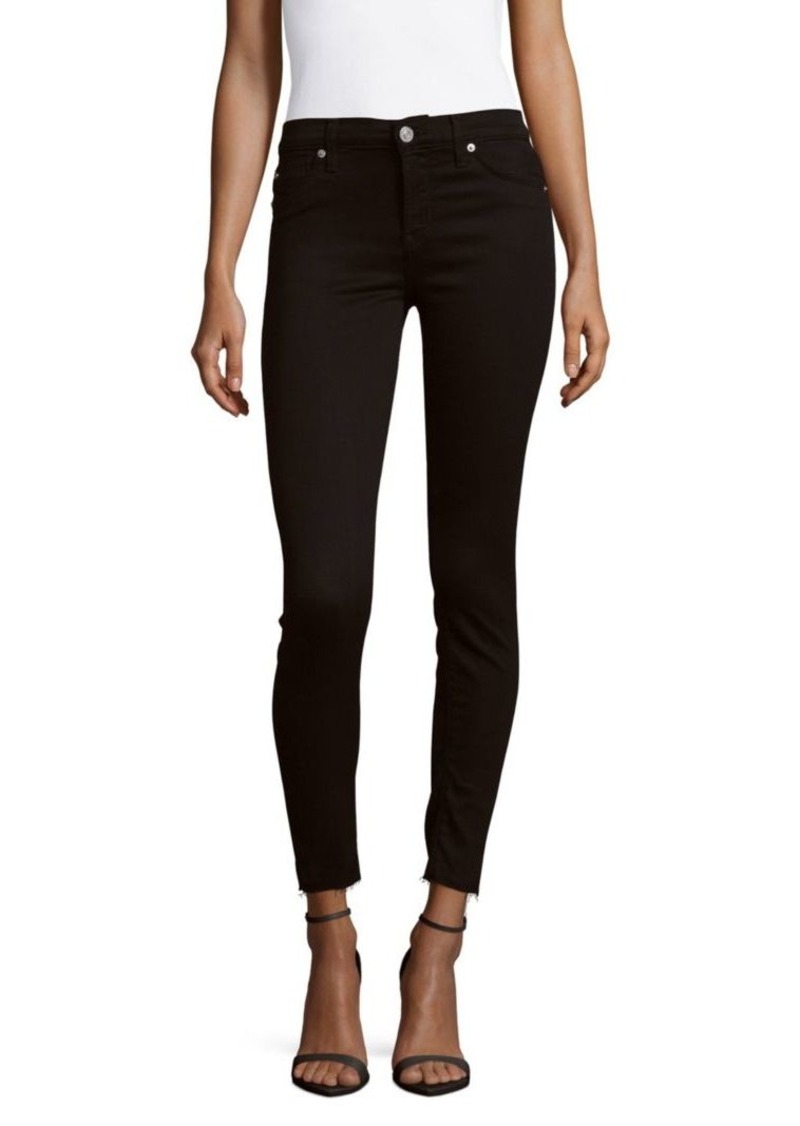 Hudson Jeans Mid-Rise Ankle Jeans