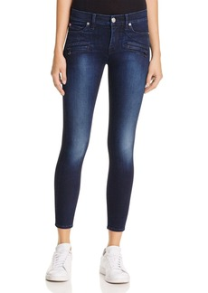 Hudson Mid Rise Ankle Skinny Jeans in Corps 2