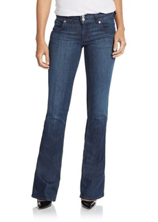 Hudson Mid-Rise Flared Bootcut Jeans