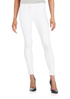Hudson Mid-Rise Skinny Ankle Jeans