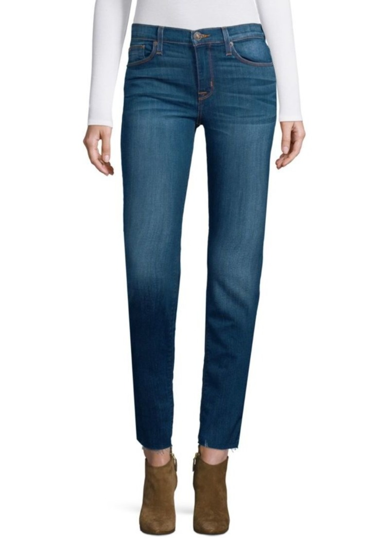Hudson Jeans Mid-Rise Super Skinny Jeans