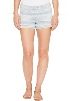Midori Double Layer Cut Off Shorts in Barely There 2