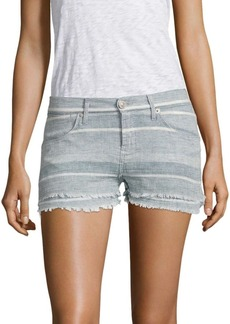 Hudson Midori Double Striped Layer Shorts