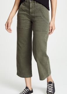 Hudson Jeans Hudson Midrise Straight Crop Cargo Pants
