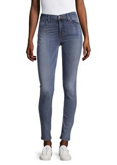 Midrise Super Skinny Jeans