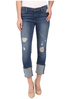 "Hudson Muse Crop Skinny w/ 5"" Cuff in Hustle"