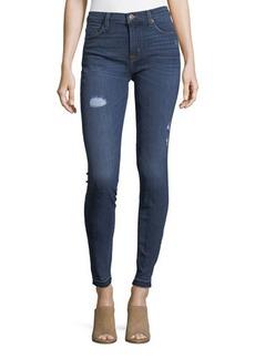 Hudson Jeans Hudson Natalie Distressed Skinny Jeans