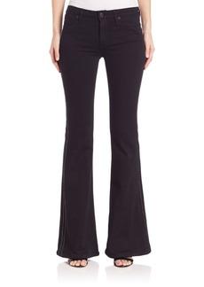 Hudson Jeans Natasha Tuxedo-Stripe Flare Jeans