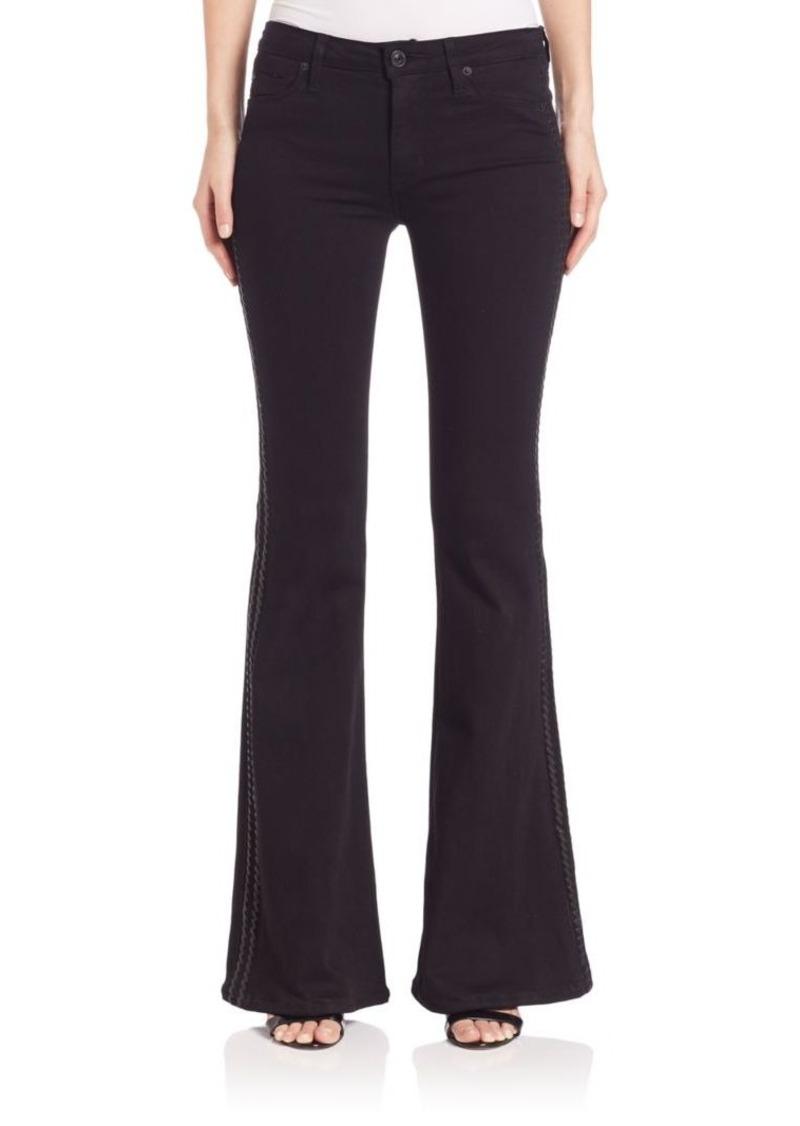 Hudson Jeans Hudson Natasha Tuxedo-Stripe Flare Jeans