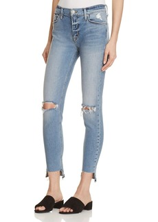 Hudson Nico Ankle Destroyed Jeans in Thrills - 100% Exclusive