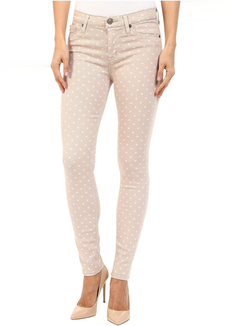 Hudson Jeans Nico Ankle in Parachute Dot
