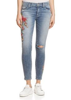Hudson Nico Ankle Skinny Jeans in Lush Floret