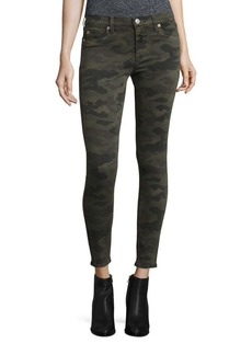 Hudson Nico Camo Skinny Ankle Jeans