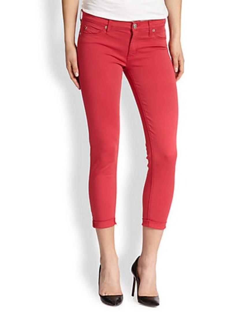 Hudson Jeans Hudson NIco Cropped Super-Skinny Jeans