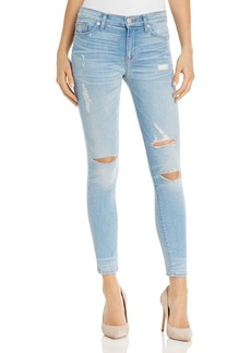 Hudson Nico Distressed Skinny Jeans in Karma - 100% Exclusive