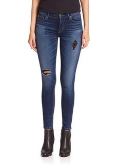 Hudson Elysian Nico Mid-Rise Skinny Jeans