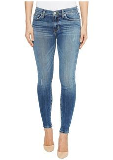 Hudson Nico Mid-Rise Ankle Super Skinny Five-Pocket Jeans in Lifeline