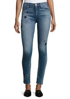 Hudson Nico Mid-Rise Ankle Super Skinny Jeans