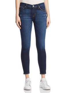 Hudson Nico Mid Rise Ankle Super Skinny Jeans in Corrupt