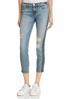 Hudson Nico Mid Rise Ankle Super Skinny Jeans in Fixate