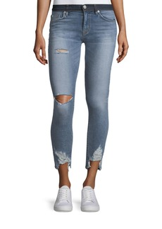 Hudson Jeans Nico Mid-Rise Crop Super Skinny Jeans