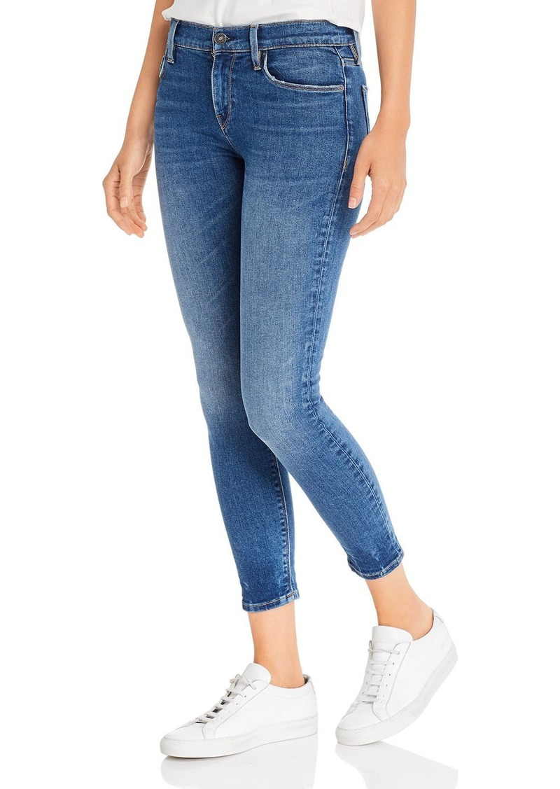 Hudson Jeans Hudson Nico Mid Rise Skinny Ankle Jeans in Gimmick