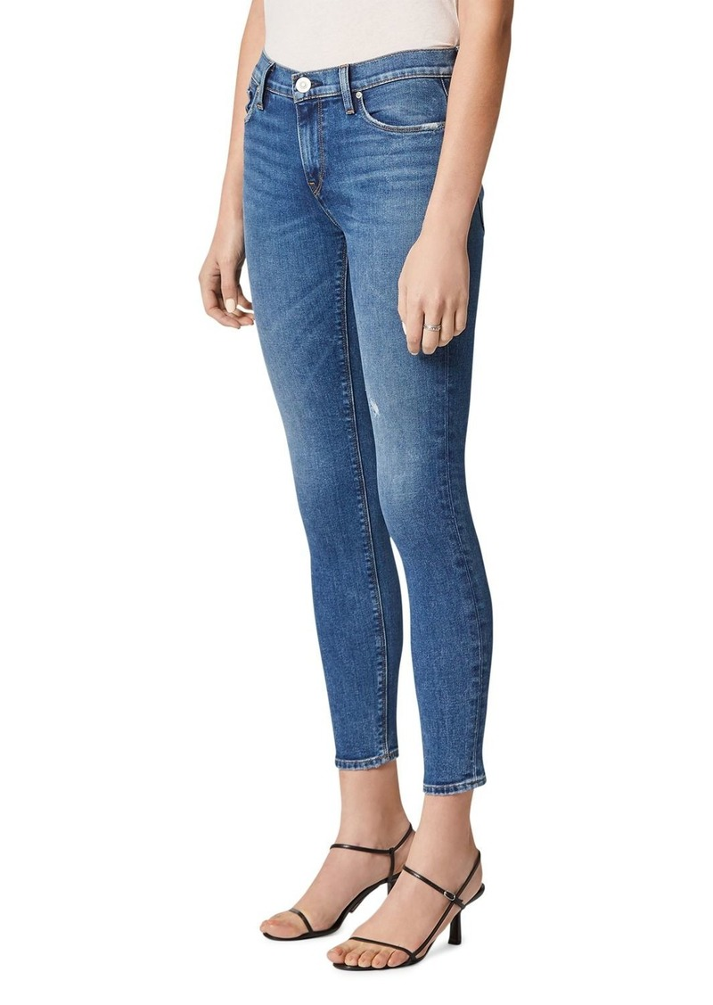 Hudson Jeans Hudson Nico Mid Rise Skinny Ankle Jeans in Ultralife