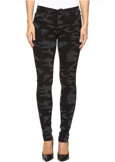 Hudson Nico Mid-Rise Skinny in Blackout Camo