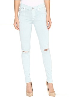 Hudson Nico Mid-Rise Skinny w/ Distress in Leaflet Destruct
