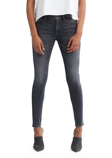 Hudson Jeans Hudson Nico Mid-Rise Super Skinny Ankle Jeans with Side Stripes