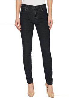 Hudson Jeans Nico Mid-Rise Super Skinny Corduroy in Broken Odyssey