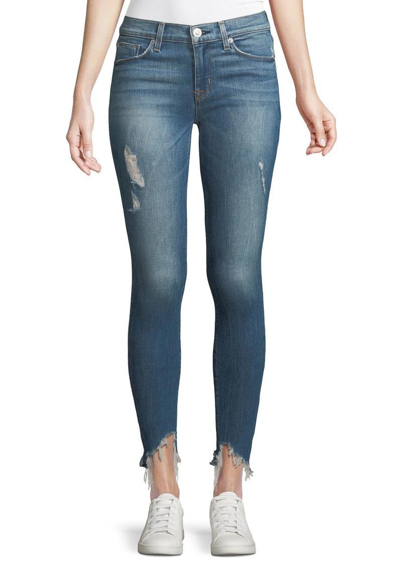 Hudson Jeans Hudson Nico Mid-Rise Super Skinny Crop Jean
