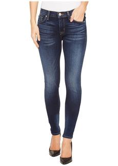 Hudson Jeans Nico Mid-Rise Super Skinny Five-Pocket Jeans in Blue Gold