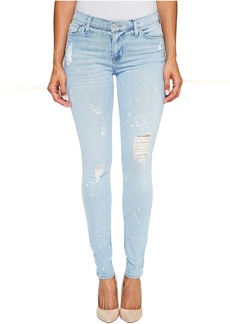 Hudson Nico Mid-Rise Super Skinny Five-Pocket Jeans in Reflector