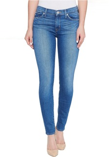 Hudson Nico Mid-Rise Super Skinny Five-Pocket Jeans in Rumors