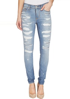 Hudson Nico Mid-Rise Super Skinny Five-Pocket Jeans in Southpaw