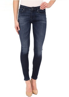 Hudson Nico Mid-Rise Super Skinny in Electric Clover