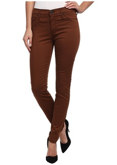 Hudson Nico Mid-Rise Super Skinny in Tarnished Copper