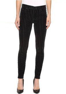Hudson Nico Mid-Rise Super Skinny Jeans in Linear