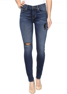 Hudson Nico Mid-Rise Super Skinny Jeans in Tipping Point